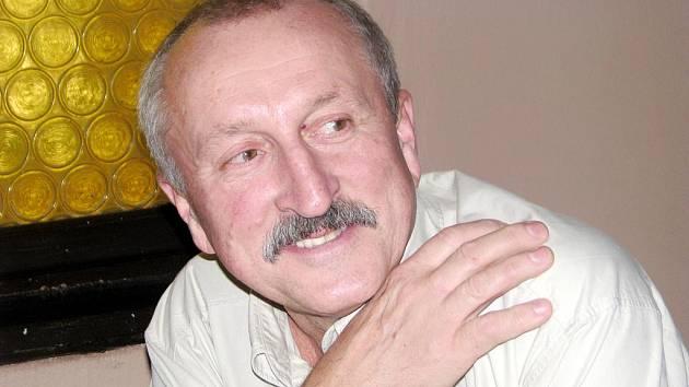 Herec Oldřich Navrátil