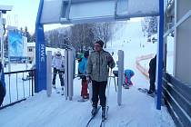 Zahájení lyžařské sezony v Deštném v Orlických horách