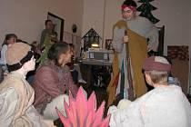 Vánoční vystoupení dětí z potštejnského dětského domova.