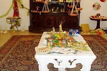 Prodejní benefiční výstava je ještě otevřena na zámku v Častolovicích.