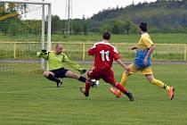 Krajská fotbalová I. B třída: Solnice - Vamberk.