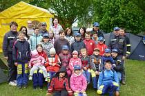 O uplynulém víkendu se do Pohoří u Dobrušky sjelo více než 500 dětí a jejich vedoucích, aby poměřily síly a šikovnost v hasičském sportu.