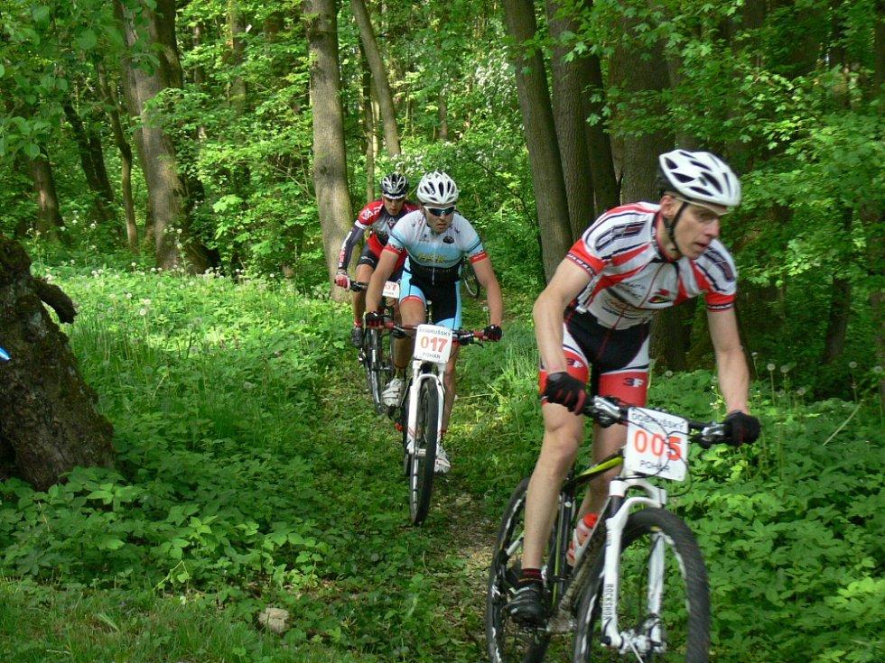 Bikery prověřily lesní okruhy