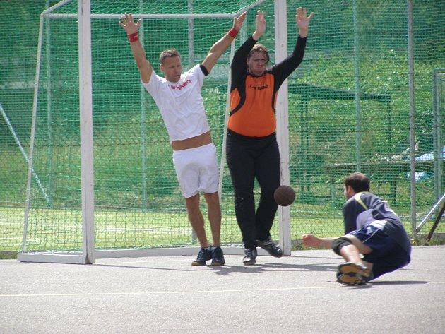 Turnaj v národní házené mužů v Dobrušce