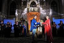 Fotografie z představení, které diváci Poláčkova léta uvidí - Romeo a Julie