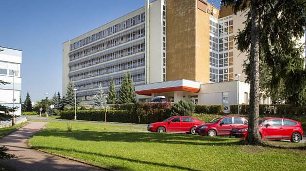 Areál rychnovské nemocnice.
