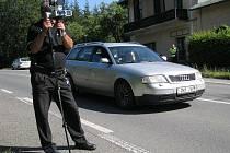 Dobrušští strážníci meřili rychlost v Cháborech.