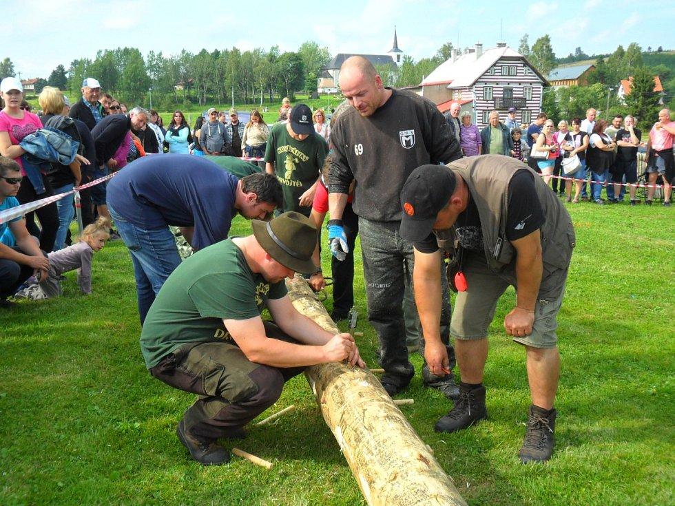 Kunštátský drvoštěp se vydařil.