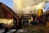 Požár v Trnově
