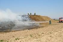 Zásah hasičů v Opočně