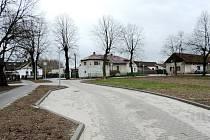 Nová náves v Albrechticích
