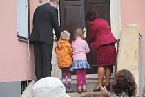 Slavnostní otevření mateřské školky v Rokytnici.