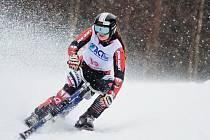 PREMIÉROVÉ PRVENSTVÍ v závodě Světového poháru zaznamenala dobrušská skibobistka Stanislava Preclíková.