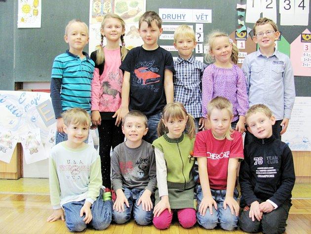 Školáci z 1. třídy Základní školy Lípa nad Orlicí