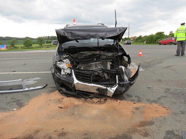 Dopravní nehoda Dobruška