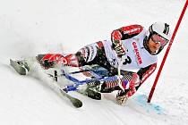 Český reprezentant Pavel Čiháček z TJ Sokol Deštné v Orlických horách během mistrovství světa v jízdě na skibobech ve všech disciplínách nenašel přemožitele.