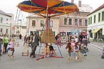Ze Svatováclavských slavností v Dobrušce