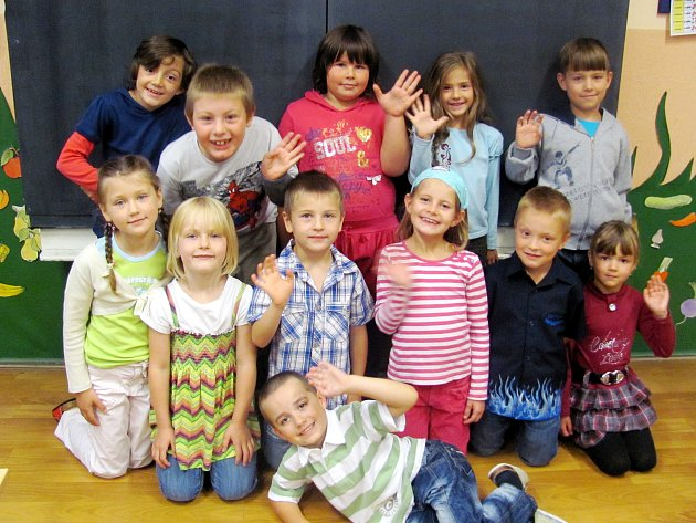 První třída ZŠ Deštné v Orlických horách