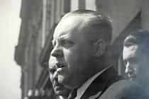 STAROSTA RYCHNOVA František Handl.  Dnes si připomínáme výročí jeho úmrtí.
