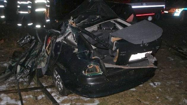 Tragická nehoda u Urbanic na Hradecku