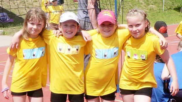 Žlutá trika přinesla dívkám štěstí a stříbro