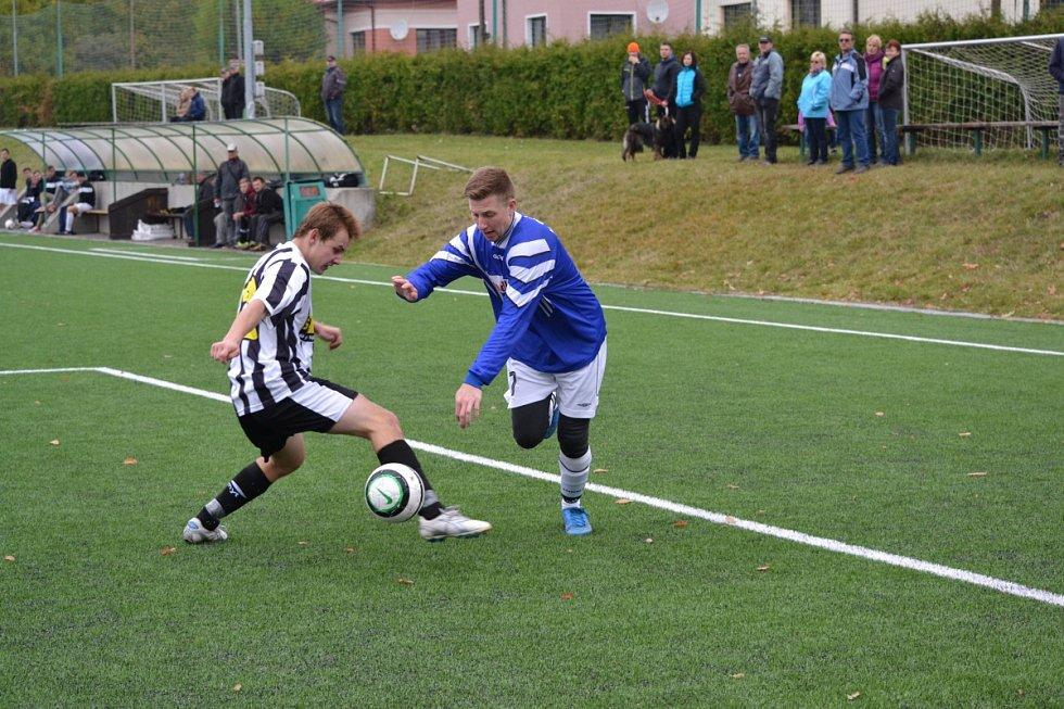 Fotbalové utkání Rychnov B - Javornice B.