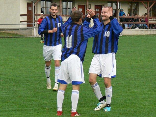 Okresní přebor II. třídy ve fotbale: Ohnišov - Zdelov.