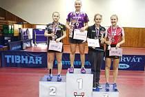 Doberská stolní tenistka Zdena Blašková potvrdila na MČR dorostu v Havířově pozici české jedničky.