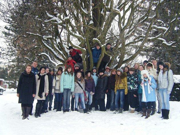 Ukrajinští studenti navštívili Rychnov