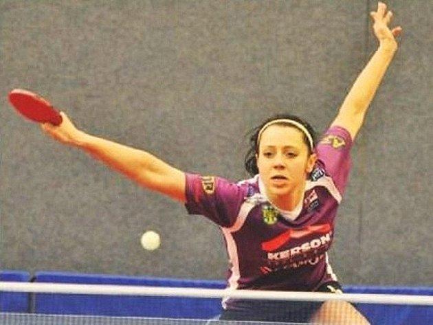 Olesja Stachová potvrdila pozici doberské jedničky, když ve dvou posledních extraligových zápasech s Frýdlantem nad Ostravicí a Malenovicemi vybojovala čtyři body.