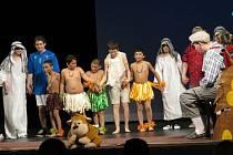 Hudebně divadelní festival speciálních škol.
