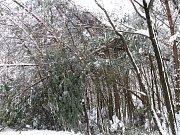 Odklízení sněhu v ulicích Hradce, 14. ledna 2010.