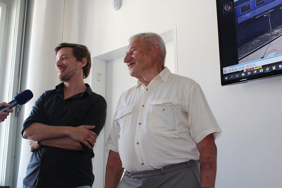 Dalibor Voborník a Jiří Duška.