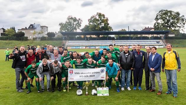 Loňský vítěz - TJ Lokomotiva Borohrádek.