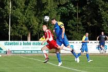 Z utkání krajského přeboru SK Týniště nad Orlicí - Jiskra Česká Skalice (5:1).