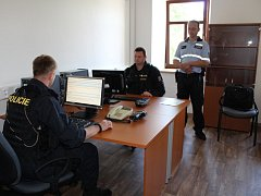 Policejní služebna v Solnici.