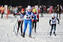 NA START 53. ročníku Orlického poháru se postavilo 160 běžců na lyžích.