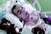 Jedenadvacetiletý Jára Křepelka z Velkého Poříčí je po vážném úrazu mozku už rok v částečném kómatu.