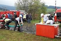 Během oslav se uskutečnila  okrsková hasičská soutěž, které se zúčastnilo sedmnáct družstev.