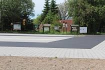 Parkoviště na Panském Poli je dokončeno.