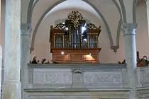 Na nově zrekonstruované varhany (na fotografii) hrál Vladimír Jelínek a podal fantastický výkon.