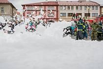 Den bezpečnostních a záchranných složek na náměstí F. L. Věka v Dobrušce.