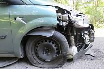 Škoda této dopravní nehody je vyčíslena na 180 tisíc korun.