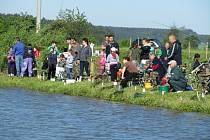 TŘETÍ ROČNÍK rybářských závodů v Třebešově si zapíše hned několik nej. Tím prvním je bezesporu největší účast.