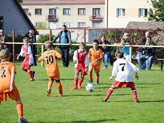 Výběr fotbalistů OFS Rychnov nad Kněžnou U11 ve Rtyni v Podkrkonoší.