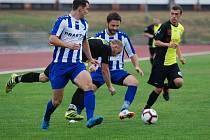 Krajský přebor ve fotbale: SK Jičín - FC Spartak Rychnov nad Kněžnou.