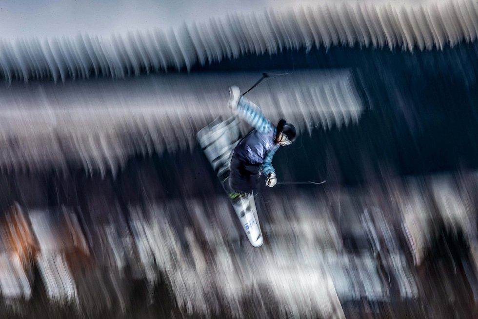 Deštné v Orlických horách ožilo závody FIS světového poháru v Big air - Soldiers 2020.