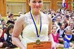 NA SOUTĚŽI zazářila také Kateřina Vašatová.