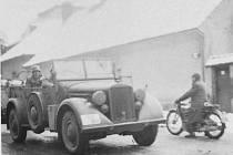 Němečtí vojáci v Opočně.