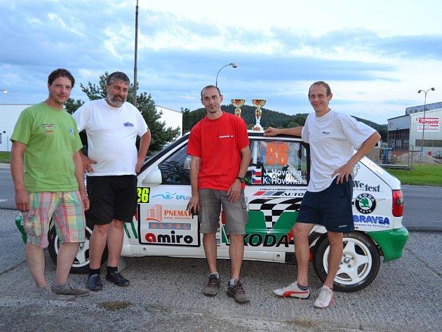 Do kategorie číslo 14 se přihlásili i bratři Jiří a Kamil Hovorkové z Olešnice s překrásnou Škodou Felicia Kit Car.